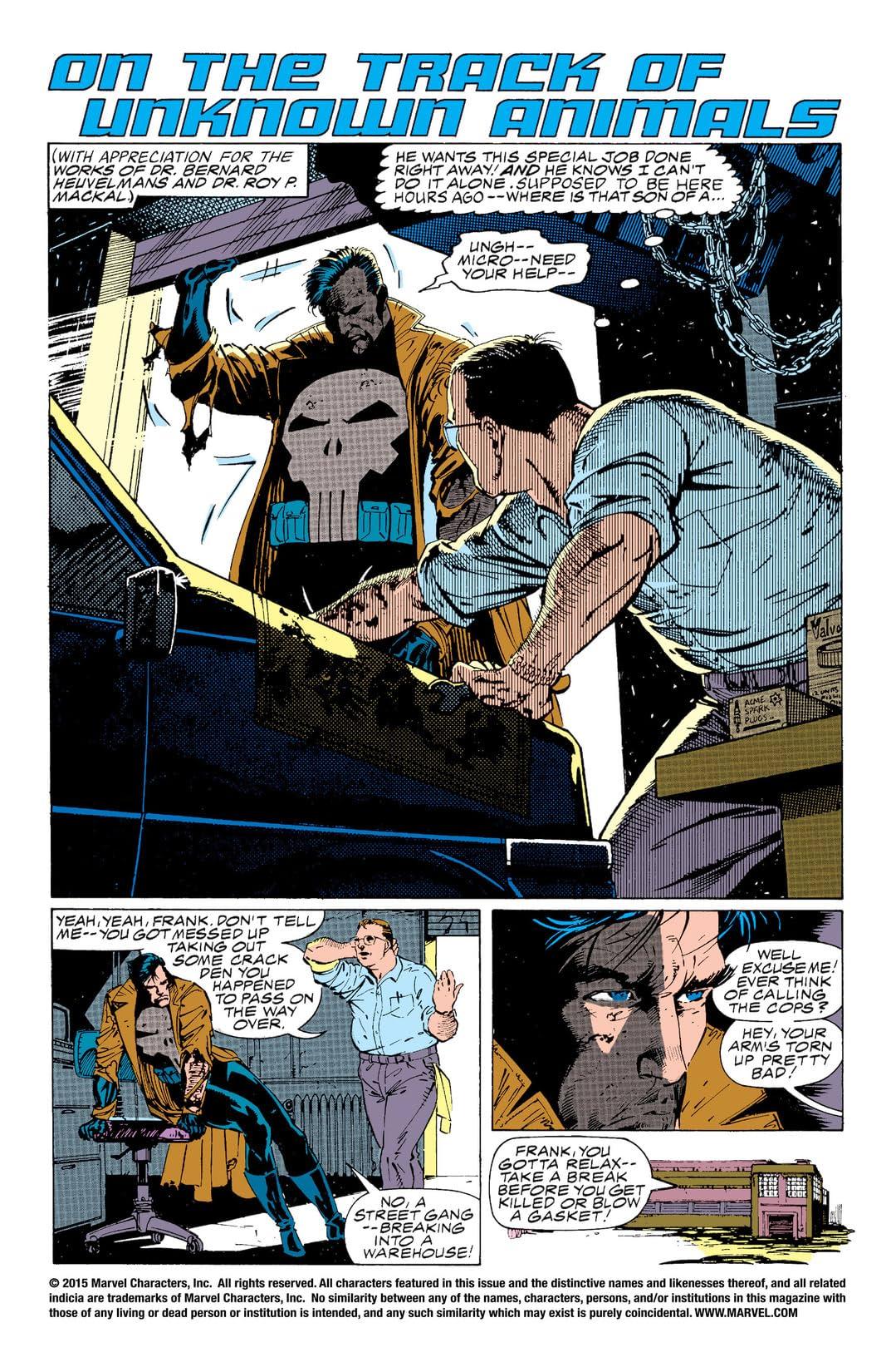Wolverine vs. The Punisher