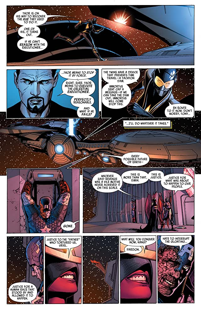 click for super-sized previews of Uncanny Avengers #16