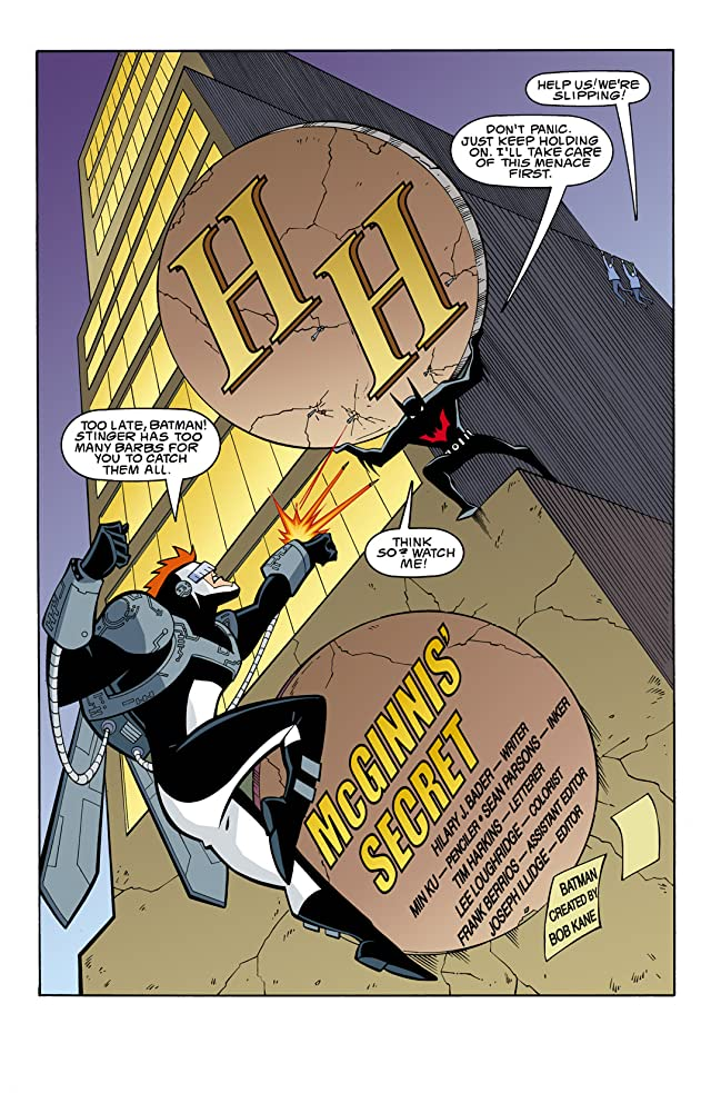 click for super-sized previews of Batman Beyond (1999-2001) #7