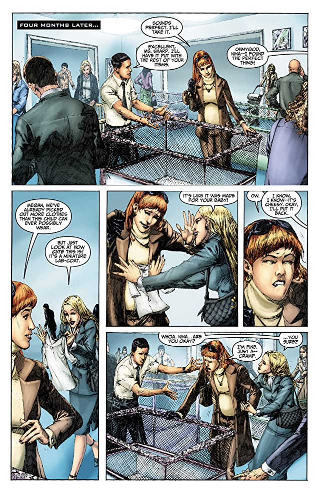 click for super-sized previews of Fringe: Tales From the Fringe #4 (of 6)