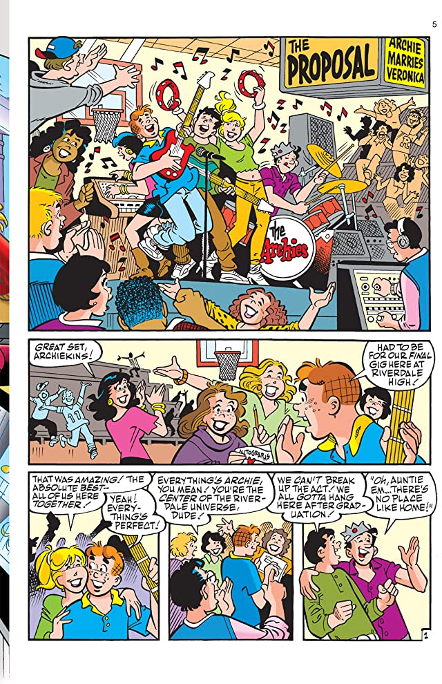 click for super-sized previews of Archie: Will You Marry Me?