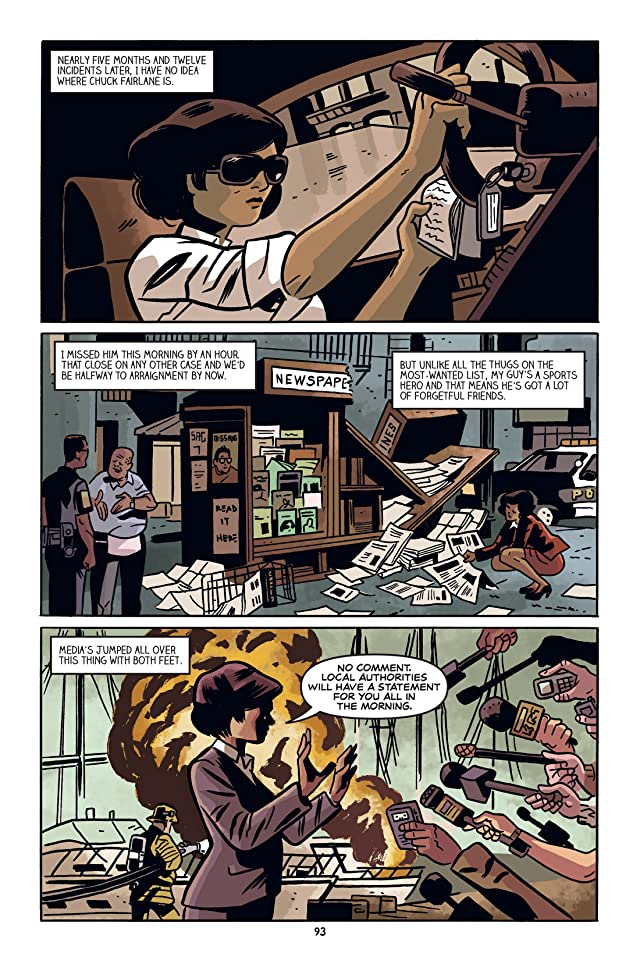 click for super-sized previews of Down Set Fight #5