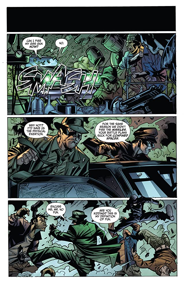 click for super-sized previews of The Green Hornet: Parallel Lives #4
