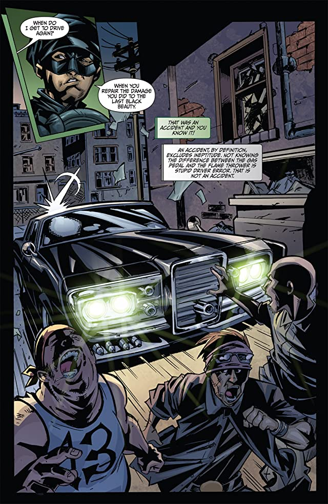 The Green Hornet: Parallel Lives #1: Preview