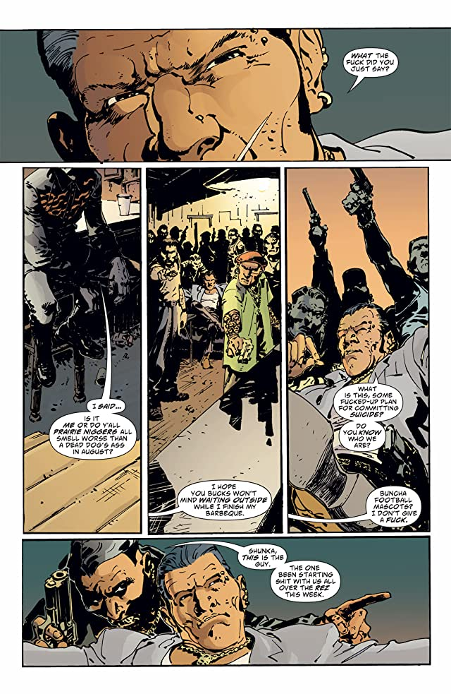 click for super-sized previews of Scalped #1