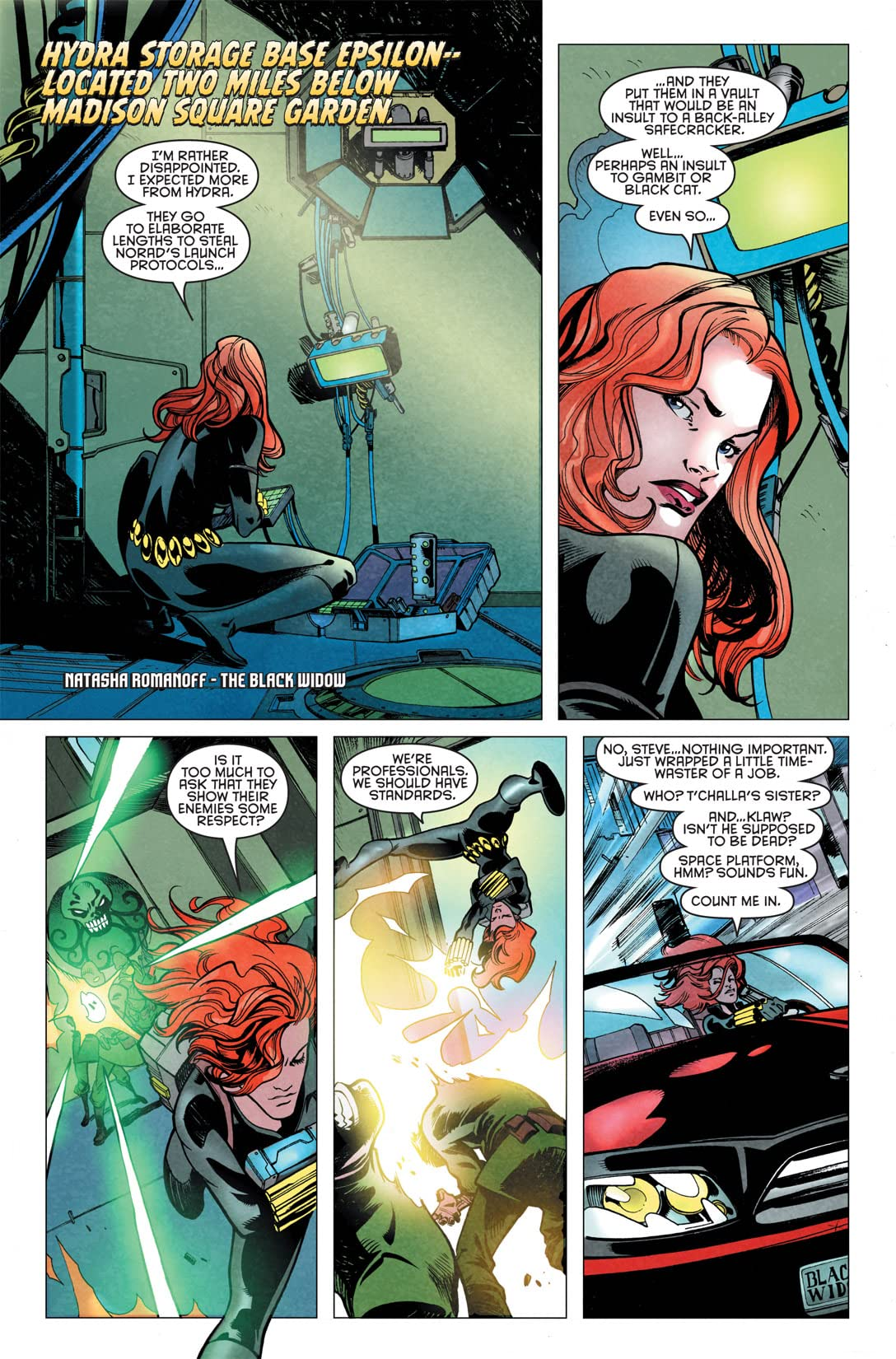 Klaws of the Panther #4 (of 4)