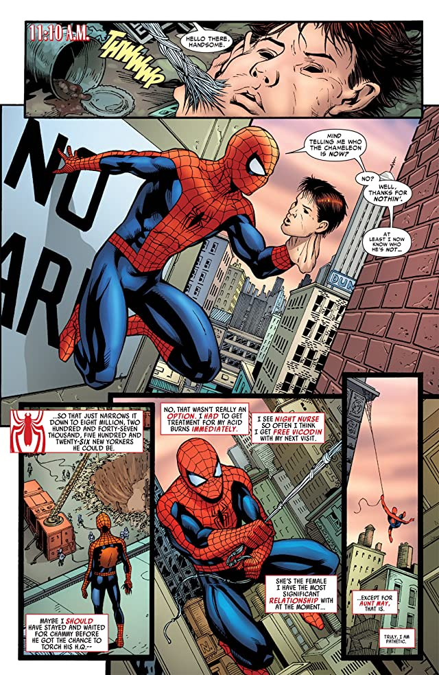 click for super-sized previews of Amazing Spider-Man (1999-2013) #604