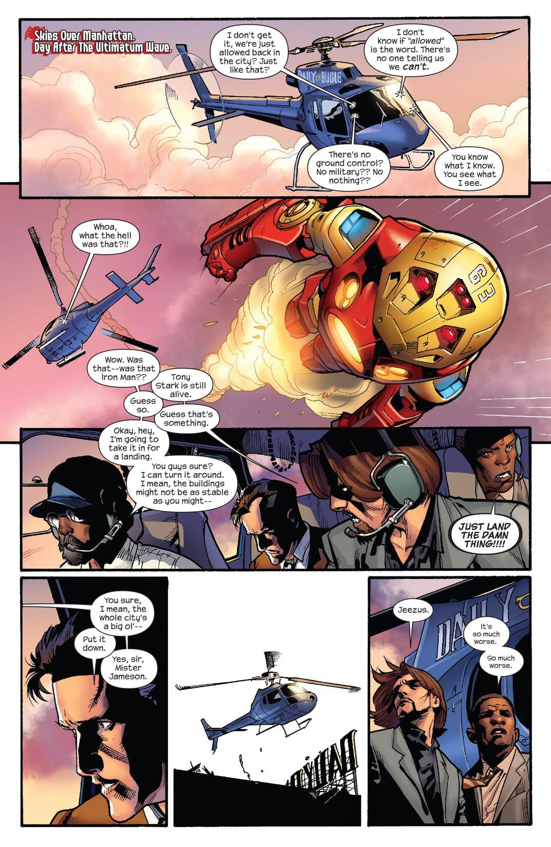 Ultimatum: Spider-Man Requiem #1 (of 2)