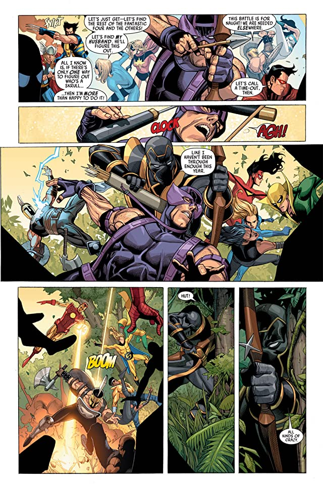 click for super-sized previews of Secret Invasion #2