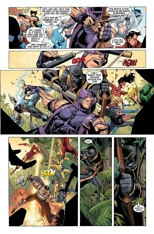 click for super-sized previews of Secret Invasion #2