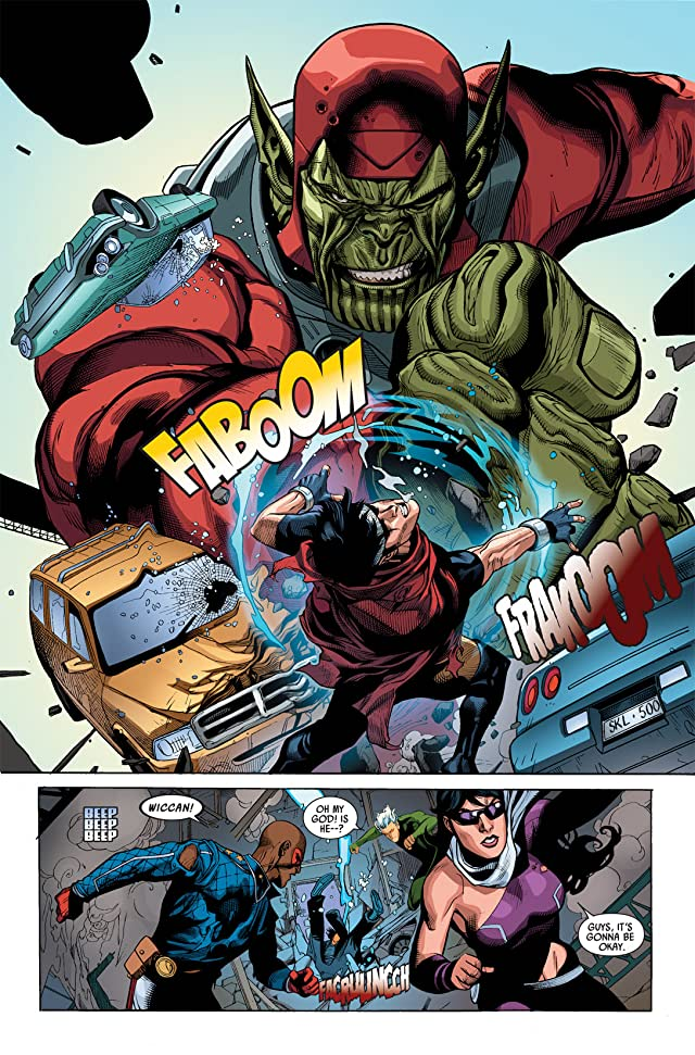 click for super-sized previews of Secret Invasion #3