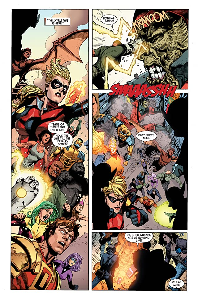 click for super-sized previews of Secret Invasion #3