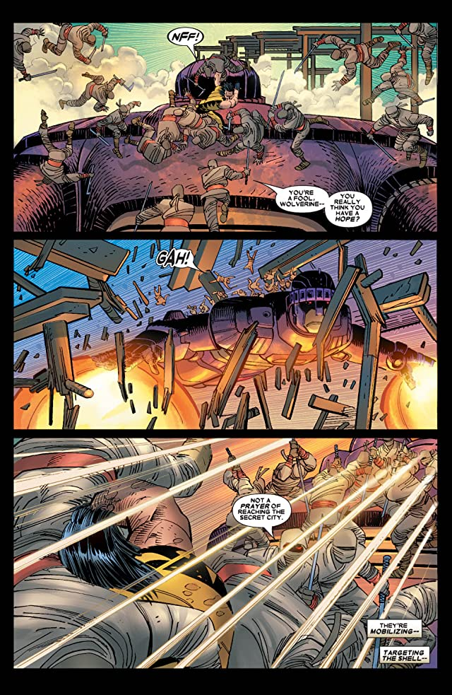 click for super-sized previews of Wolverine (2003-2009) #29