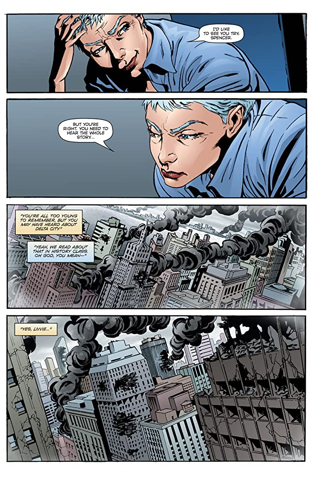 Dynamo 5: Sins of the Father #2 (of 5)