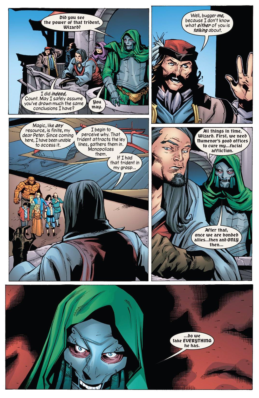 Marvel 1602: Fantastick Four #5 (of 5)