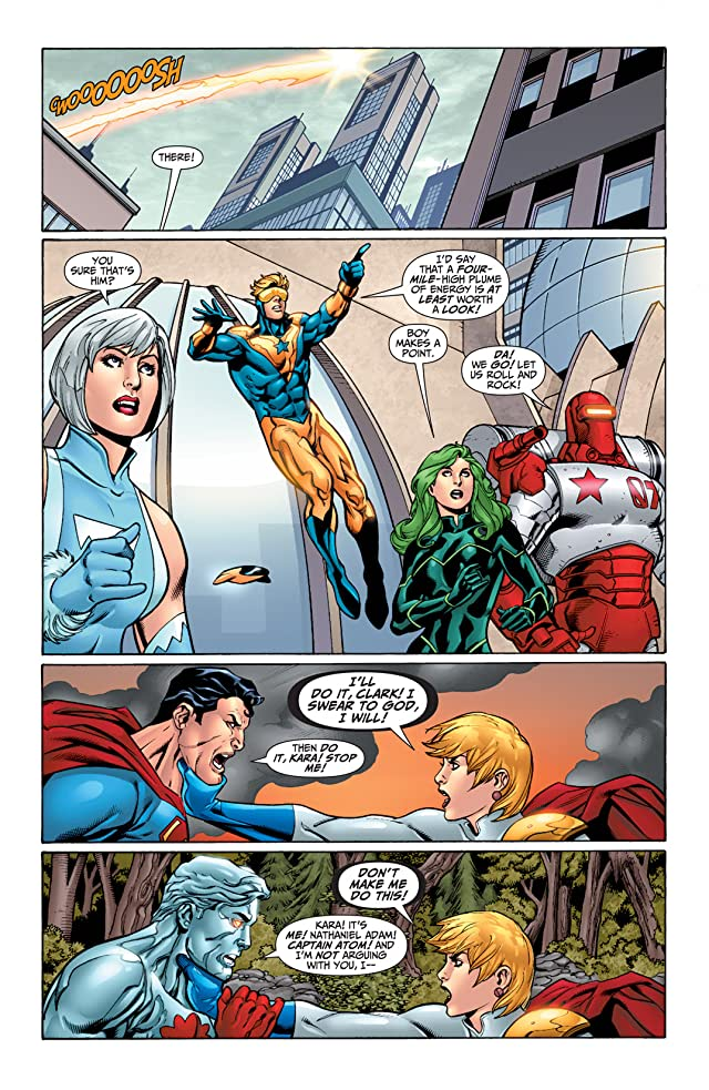 click for super-sized previews of Justice League: Generation Lost #18