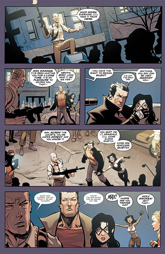 click for super-sized previews of Incorruptible #12