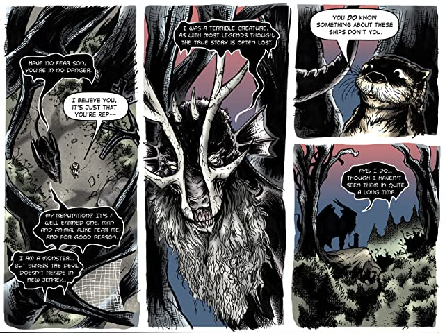 click for super-sized previews of War of The Woods #3: Season 1