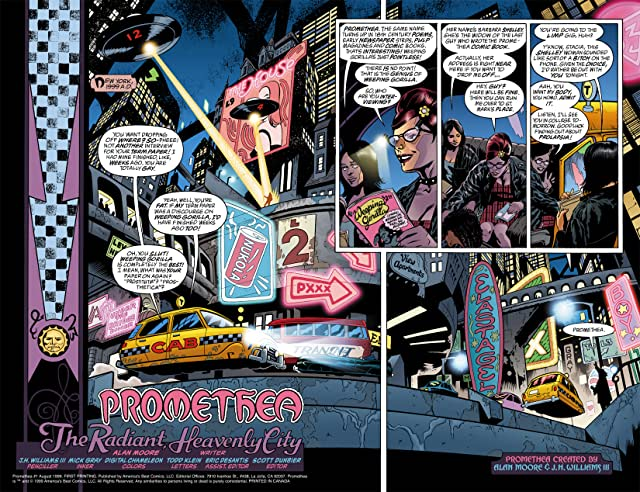 click for super-sized previews of Promethea #1