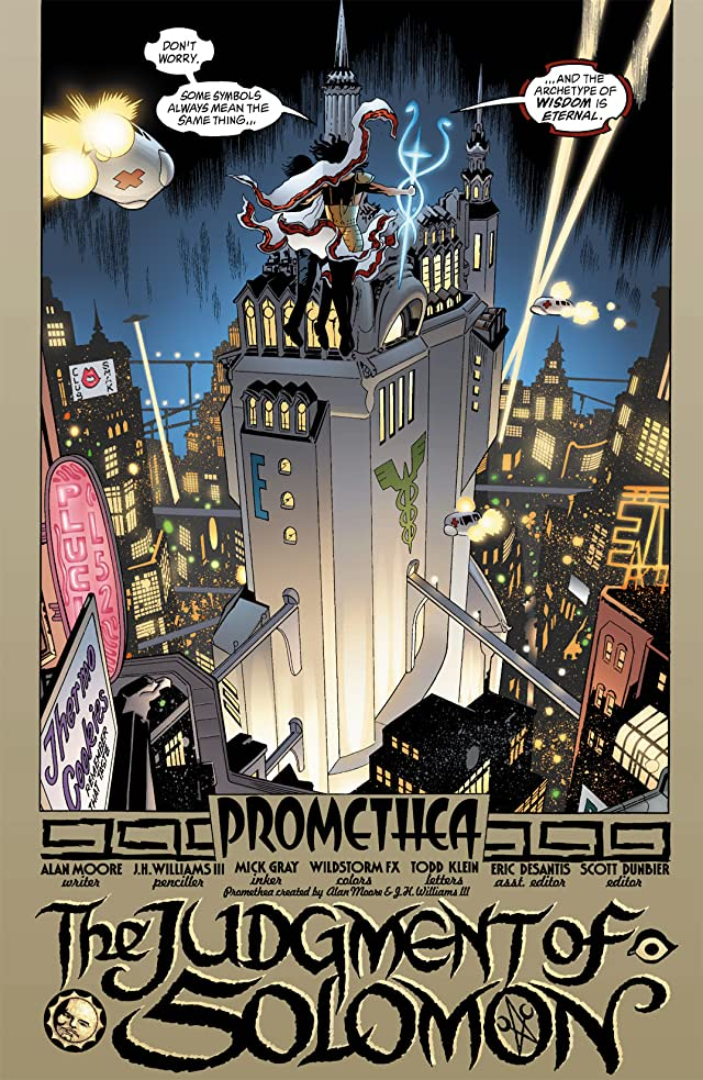 click for super-sized previews of Promethea #2