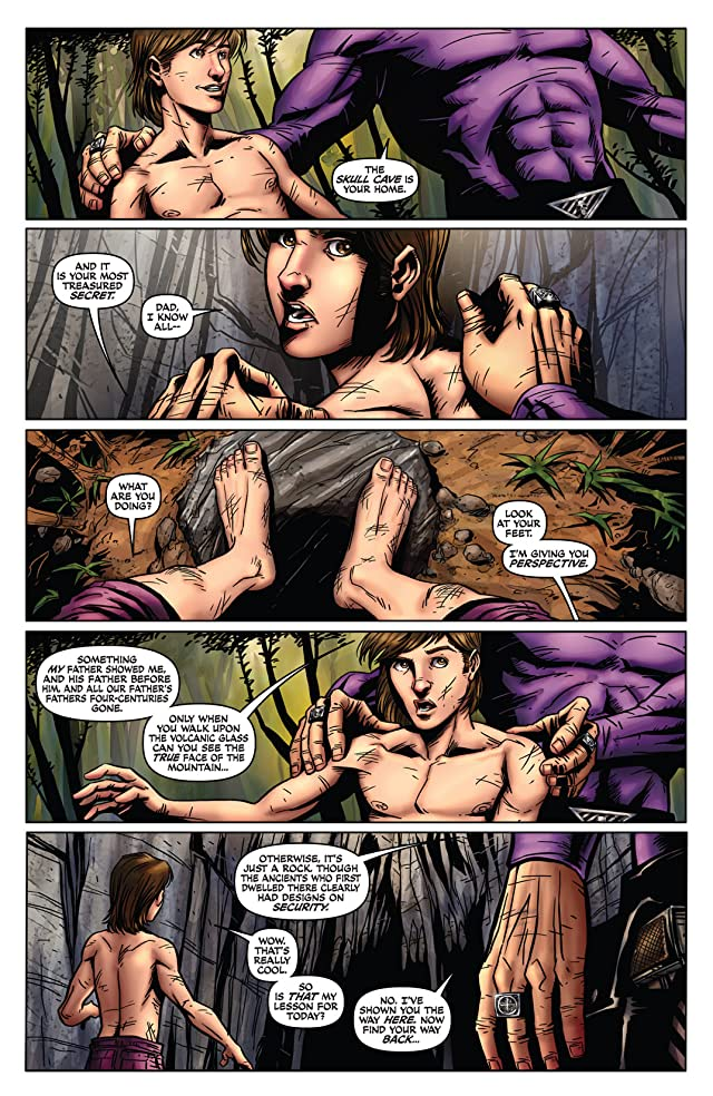 click for super-sized previews of The Last Phantom #3