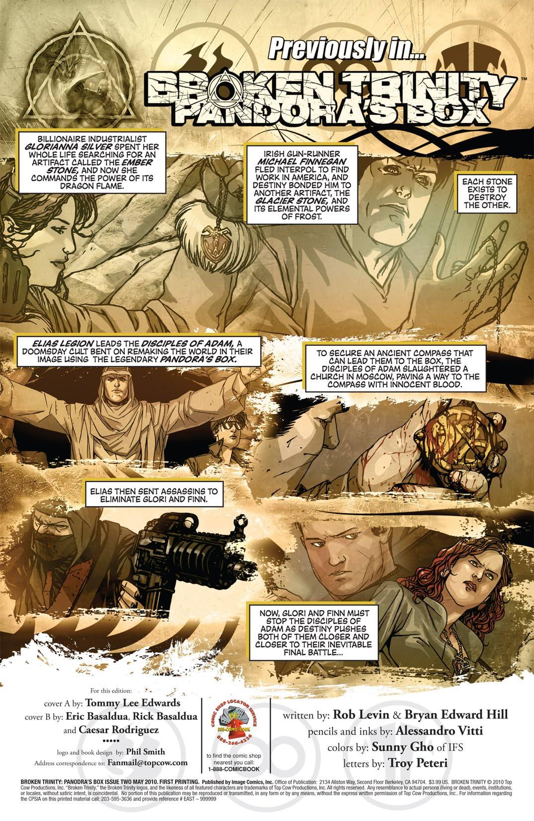 Broken Trinity: Pandora's Box #2 (of 6)