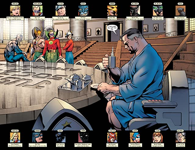 click for super-sized previews of Justice Society of America (2007-2011) #10