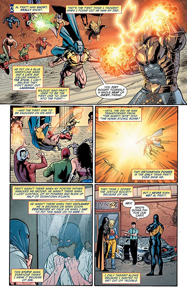 click for super-sized previews of Justice Society of America (2007-2011) #16