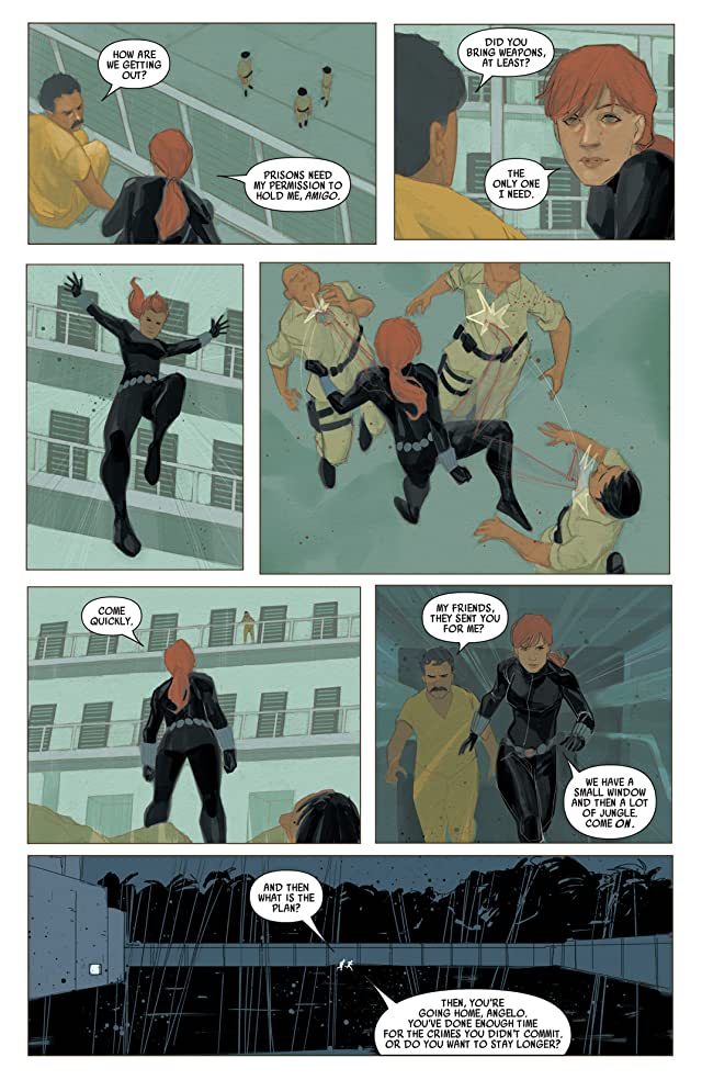 click for super-sized previews of Black Widow (2014-) #3