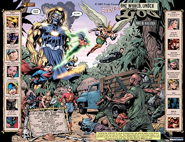 click for super-sized previews of Justice Society of America (2007-2011) #18