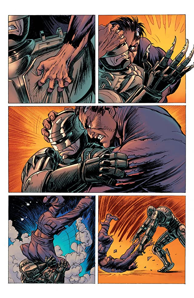 click for super-sized previews of Robocop: Last Stand #7