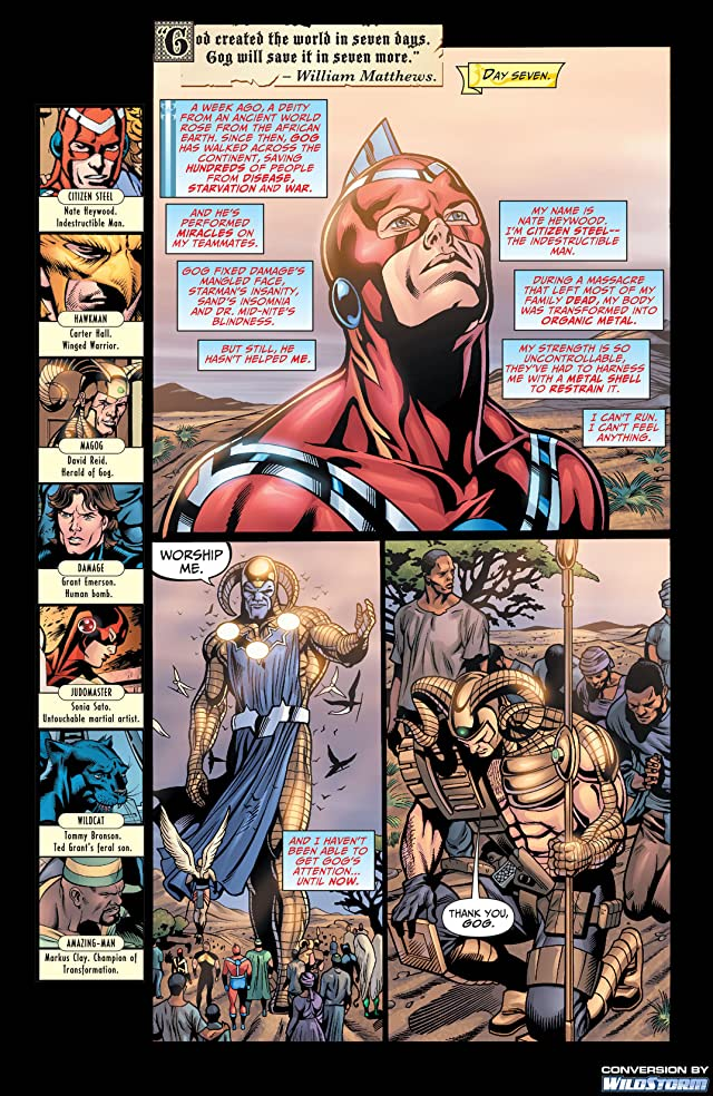 click for super-sized previews of Justice Society of America (2007-2011) #21