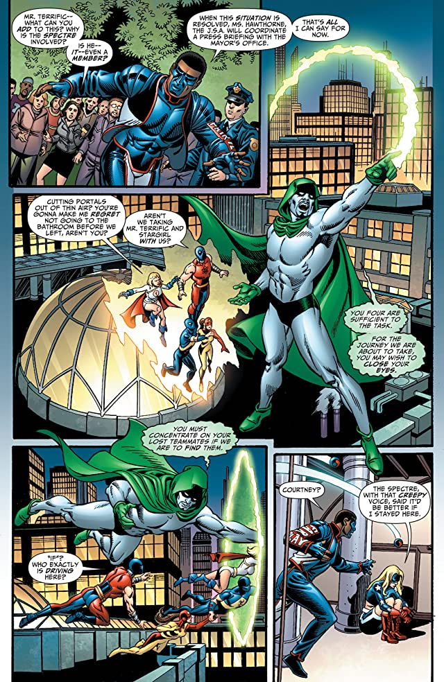 click for super-sized previews of Justice Society of America (2007-2011) #28