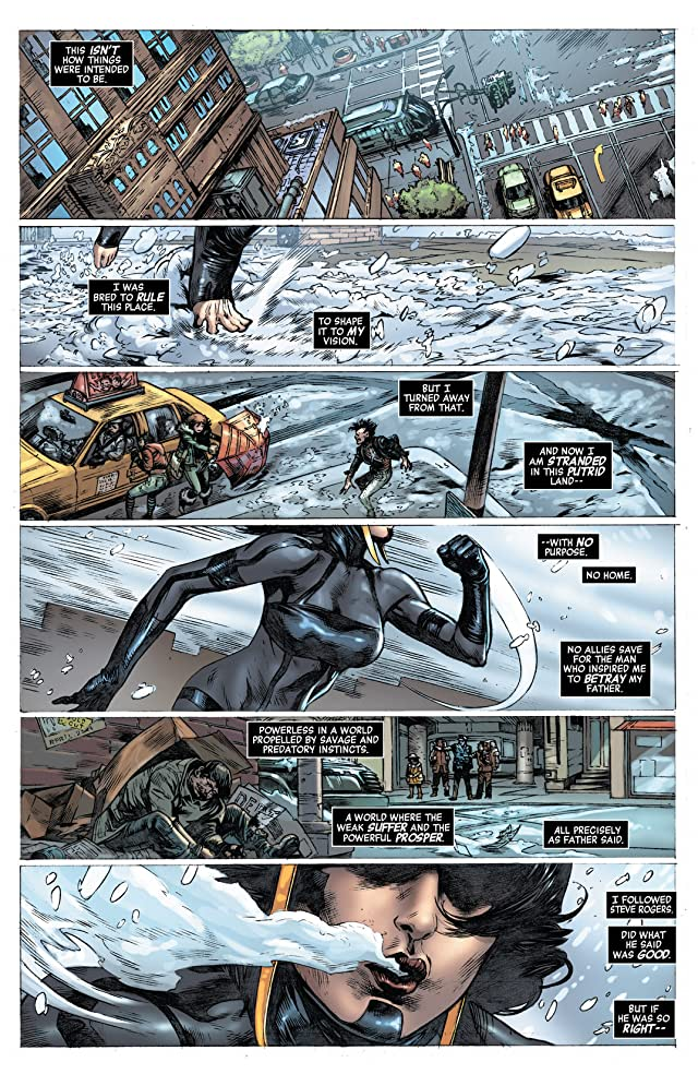 click for super-sized previews of Captain America (2012-) #16.NOW
