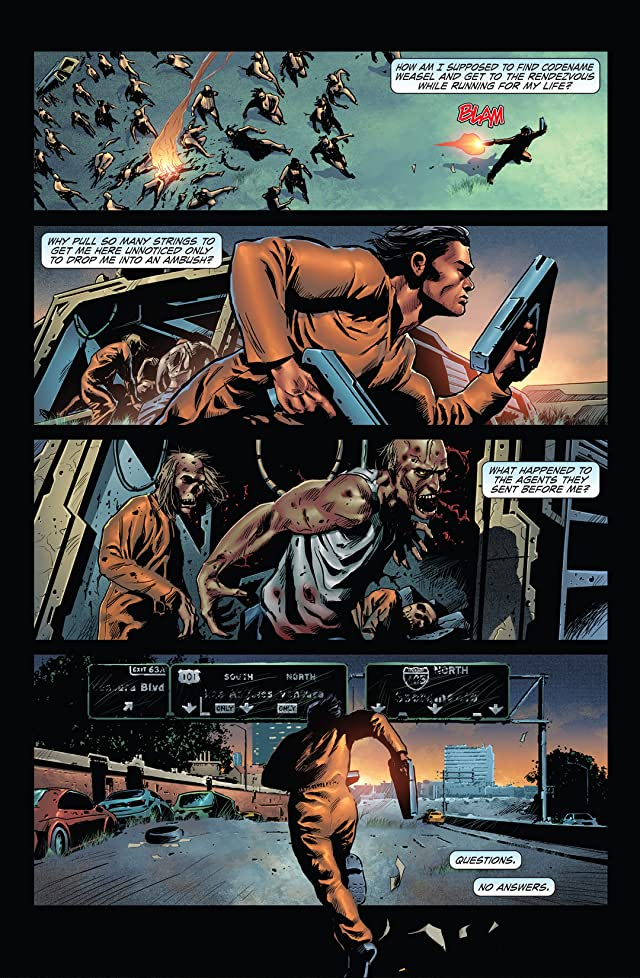 click for super-sized previews of Escape From The Dead #2