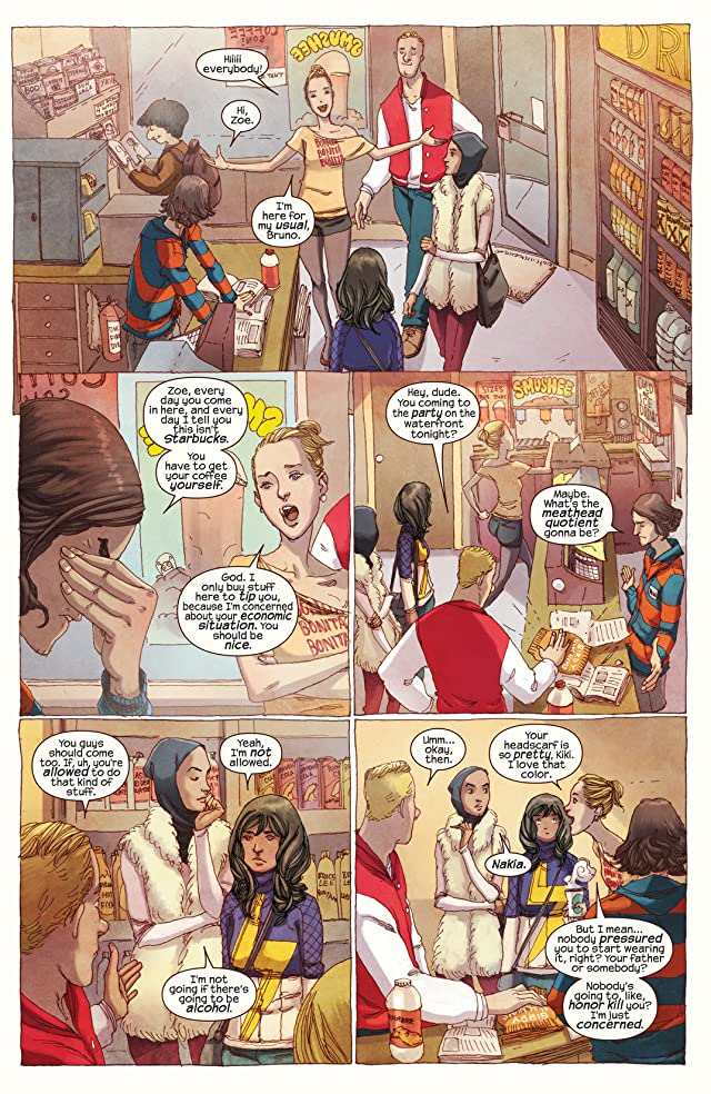 click for super-sized previews of Ms. Marvel (2014-2015) #1
