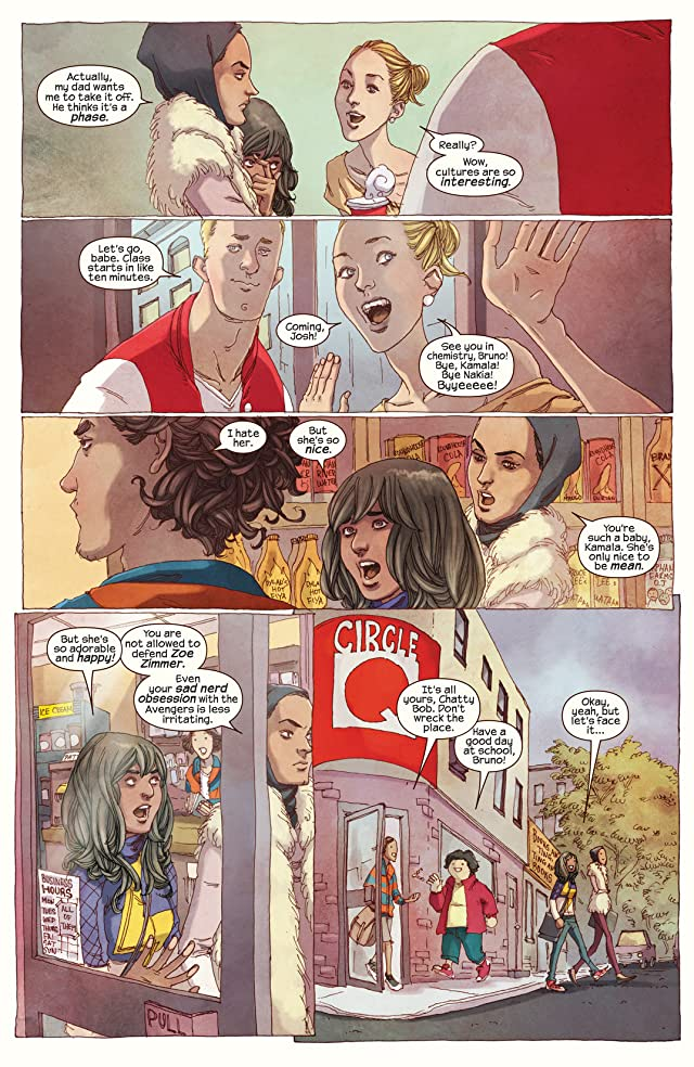 click for super-sized previews of Ms. Marvel (2014-) #1
