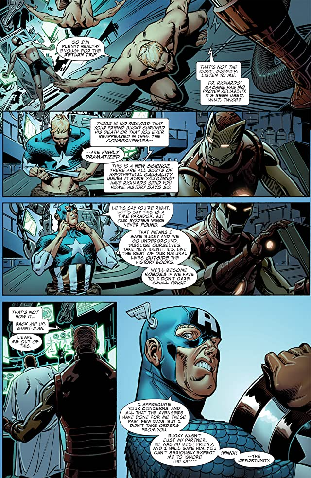 Captain America: Man Out of Time #3 (of 5)