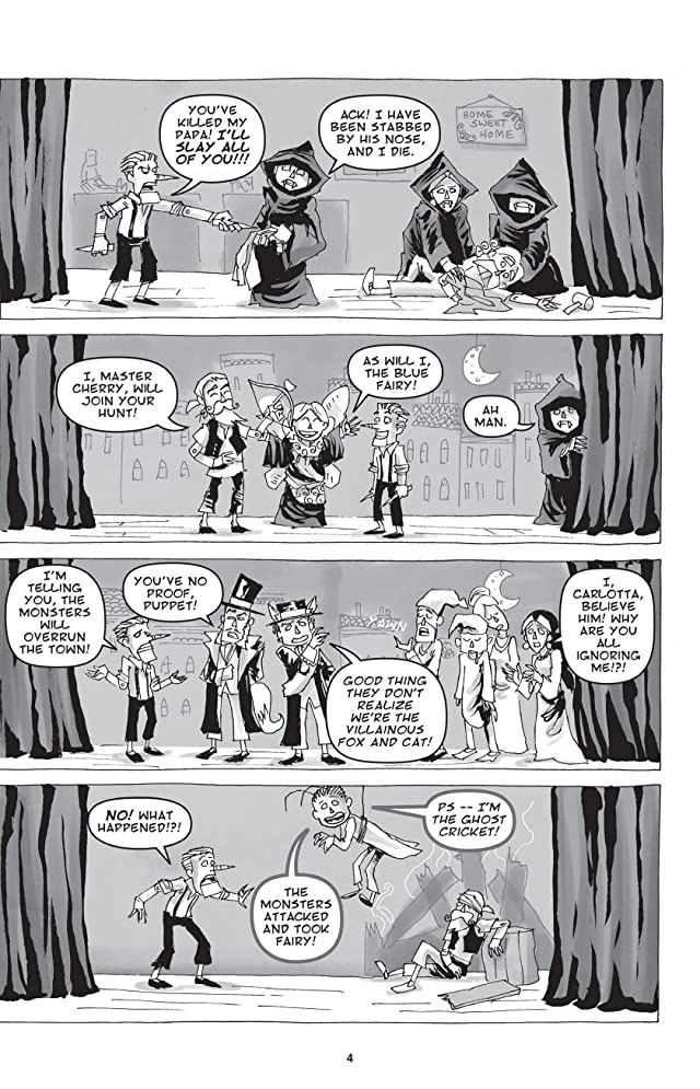 click for super-sized previews of Pinocchio, Vampire Slayer Vol. 2: The Great Puppet Theater