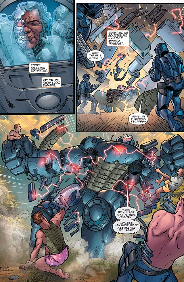 click for super-sized previews of War Machine (2008-2010) #10