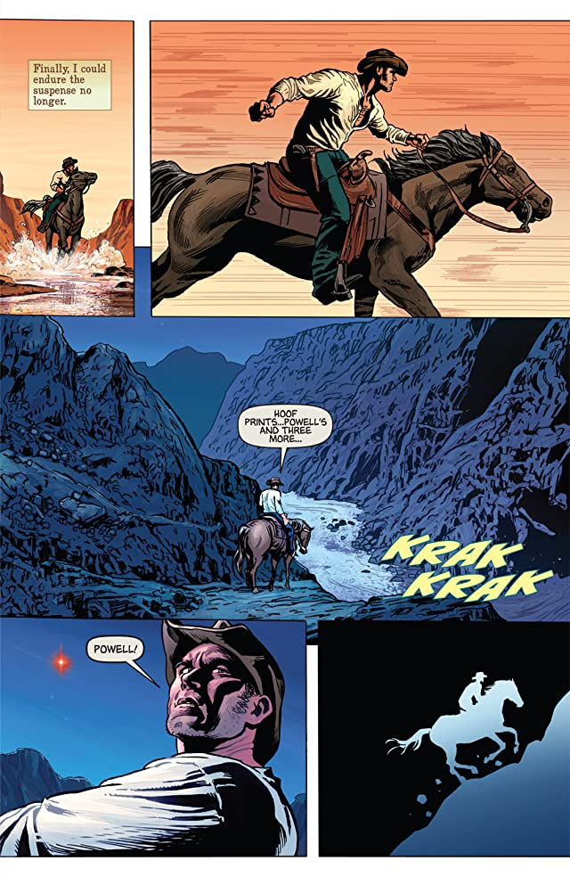 click for super-sized previews of Warlord of Mars #2