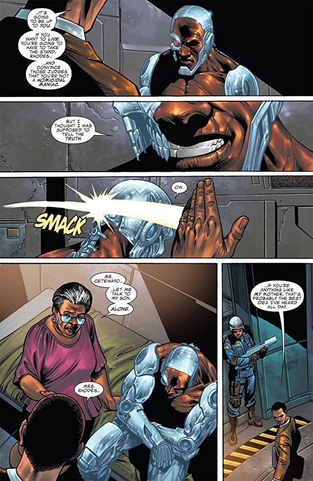 click for super-sized previews of War Machine (2008-2010) #12
