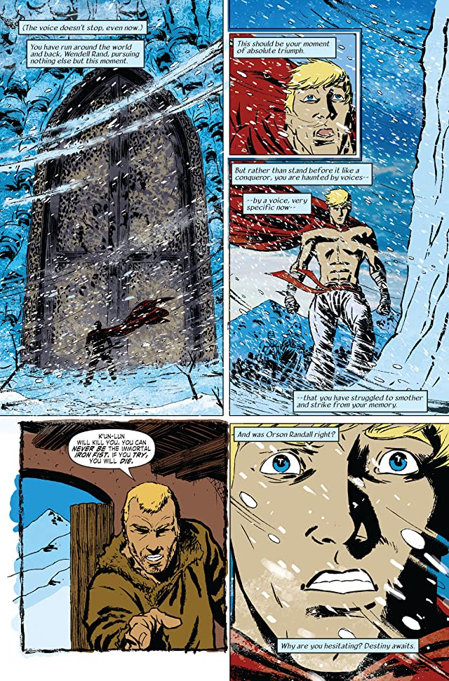 Immortal Iron Fist #12