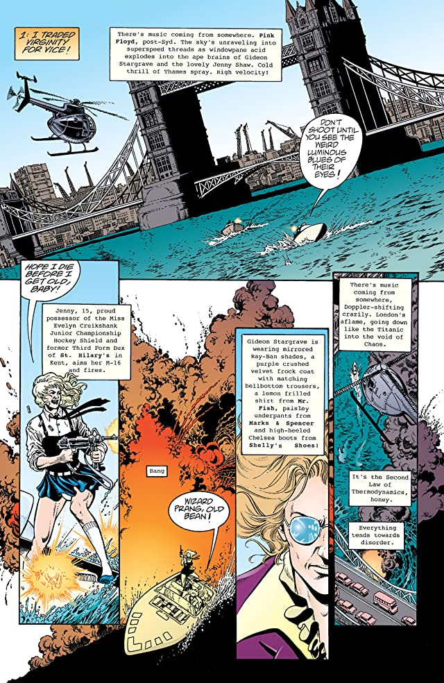 click for super-sized previews of The Invisibles Vol. 3: Entropy in the U.K.