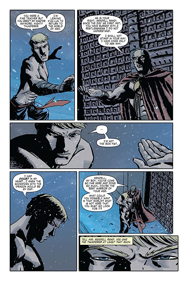 click for super-sized previews of Immortal Iron Fist #13