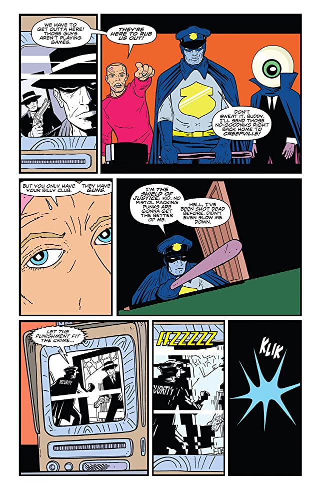 The Bulletproof Coffin #5 (of 6)