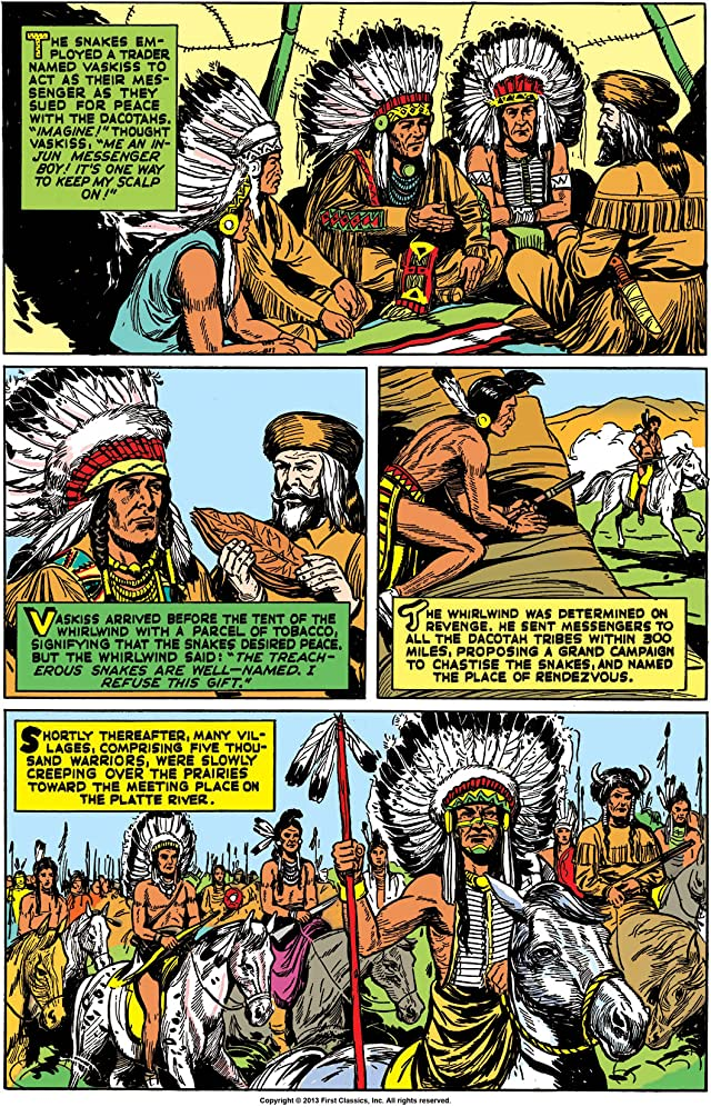 Classics Illustrated #72: The Oregon Trail