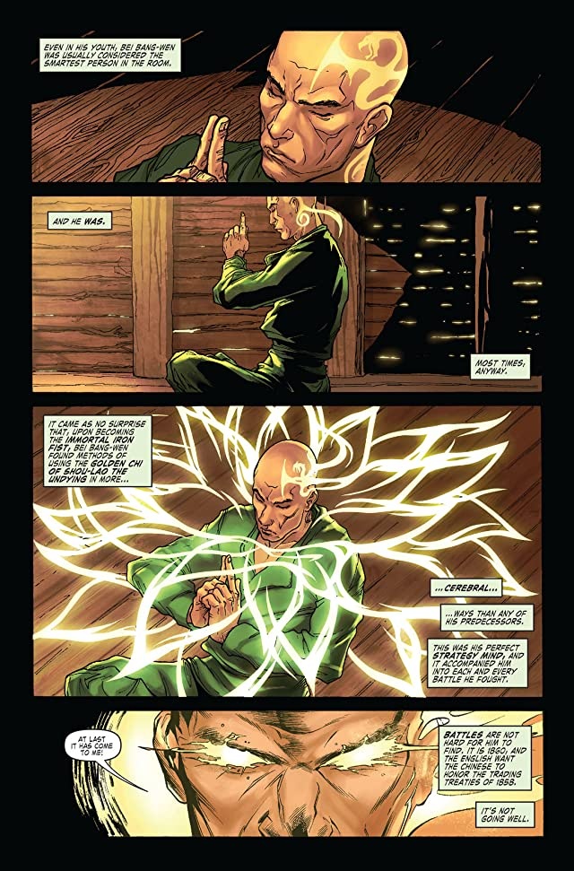 click for super-sized previews of Immortal Iron Fist #15