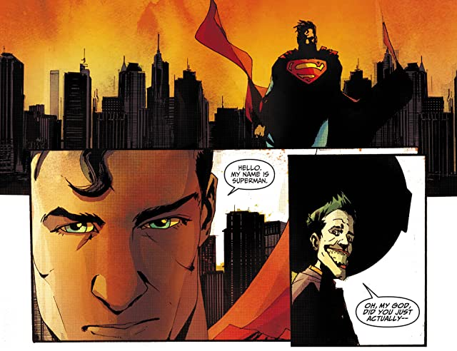 click for super-sized previews of Adventures of Superman (2013-2014) #40