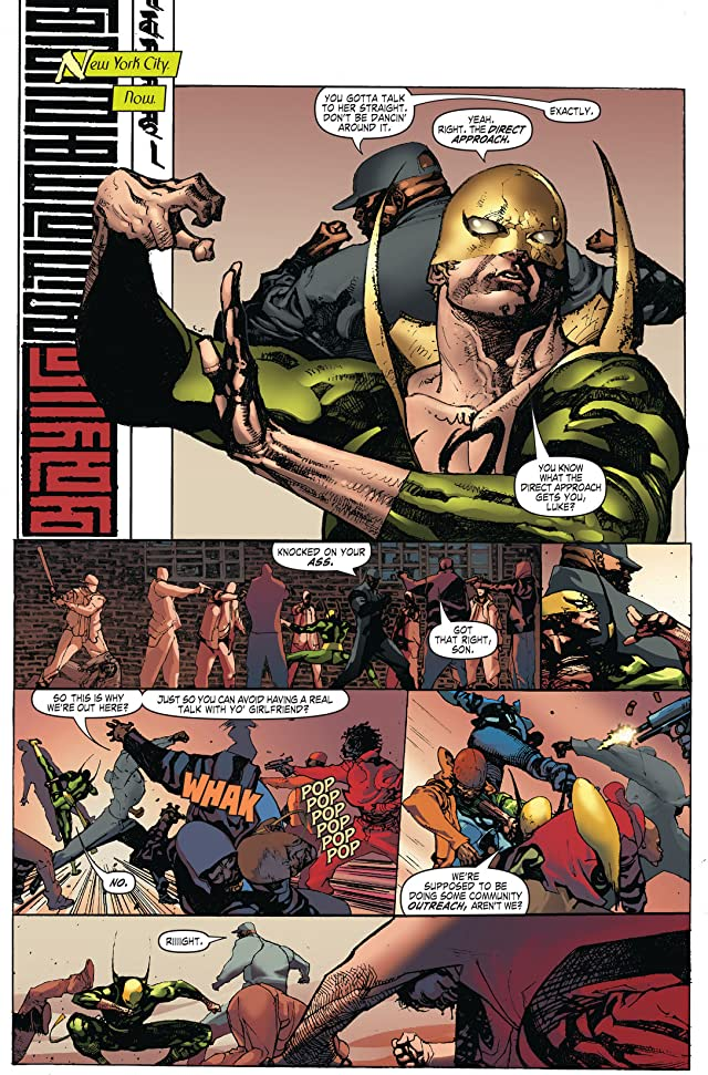 click for super-sized previews of Immortal Iron Fist #17